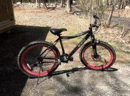 "Men's 26"" Kent Hardtail Red & Black Mountain Bike Aluminium"