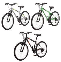 Mens Mountain Bike 24 Roadmaster Bicycle Comfort Seat Outdoo