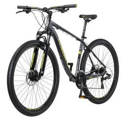 Mens Mountain Bike 29 Inch 24-speed Aluminum Gray Frame EZ-F