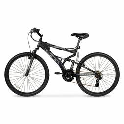 Mens Mountain Bike Bicycle 21 Speed Shimano Aluminum Full Su