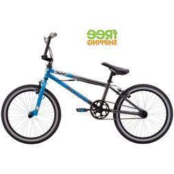 "20"" Mongoose Mode 100 Boys' Bike, Blue/Gray"