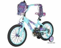 Modern Kids Girls Bike, Soft Comfy Durable Padded Seat Outdo