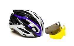 Popo Rabbit in-Mold Multi-Sport Adult Goggles Bike Helmet Ad