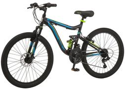 "Mongoose 24"" Boy's Trail Blazer Mountain Bike"