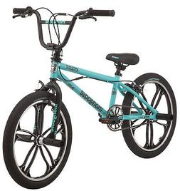 Mongoose Craze Freestyle BMX Bike 20-inch Mag Wheels, Age 6