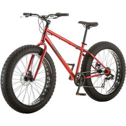 Mongoose Hitch Men's All-Terrain Fat Tire Bike, 26-inch whee
