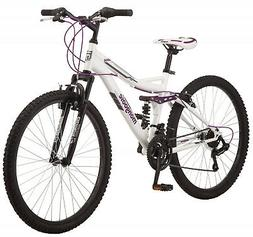 Mongoose Ledge 2.1 Mountain Bike, 26-inch wheels, 21 speeds,