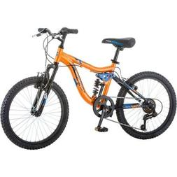 "20"" Mongoose Ledge 2.1 Boys' Mountain Bike with aluminum sus"