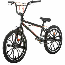 "Mongoose Rebel Freestyle Kids BMX Bike, 20"" aluminum mag whe"