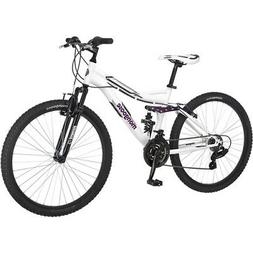 "Mongoose Women's Mountain Bike 26"" Ladies Bicycle Aluminum F"