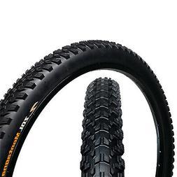 "Zol Montagna MTB Wire Mountain Bike Bicycle Tire 26x2.25"" Bl"