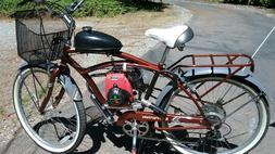 "Motorized 21-Speed Men Bicycle Beach Cruiser - Schwinn 26"" P"