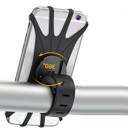 Mount Phone Holder GPS Motorcycle MTB Bike Bicycle Baby Carr