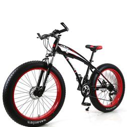 Mountain Bicycle Snow Special 24 Inch Wheel 21 Speed Double