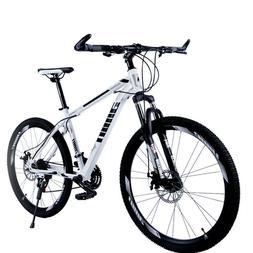 """Ablewipe Mountain Bike 21 Speed Double Disc Brakes 26"""" Varia"""