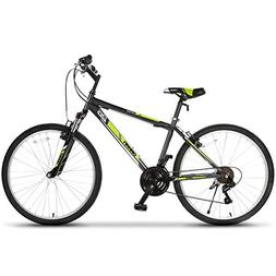 ORKAN Mountain Bike 26'' Men+ Women Hybrid Bike MTB 18 Speed