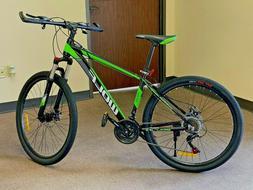 "Mountain Bike 27.5"" Front Suspension Disc Brake Men's Bicycl"