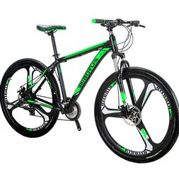 "Eurobike 29"" Mountain Bike Full Bicycle Shimano M370 27 Spee"