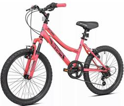Mountain Bike For Girls Bicycle 20 Inch Adjustable Seat 6 Sp