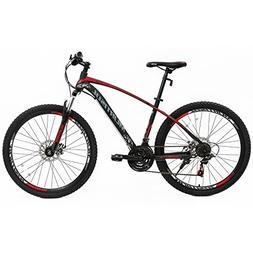 Uenjoy Murtisol 27.5'' 21 Speed Mountain Bike with Steel