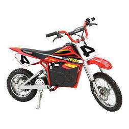 Razor MX500 Red Dirt Rocket High-Torque Electric Motorcycle