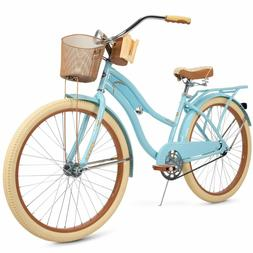 "Huffy Nel Lusso 26"" inch Cruiser Bike - Blue"