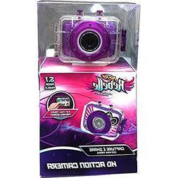 Nerf Rebelle Purple 5.1 Megapixel HD Children's Action Sport