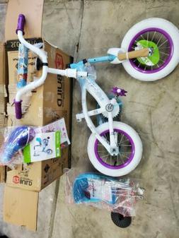 Huffy New 12 Inch Girls Frozen Bike with Sleigh