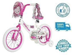 "New 16"" Hello Kitty Girl Bike Kid Ride On Child Cycling Bicy"