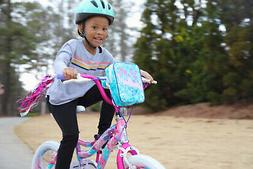"NEW 18"" Kids Bike Girls Wheels Bicycle with Training Wheels"