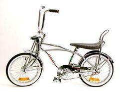 "New 20"" Lowrider Bike Chrome with 68 Spokes"