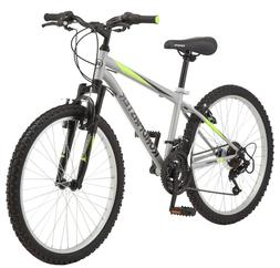 "NEW Roadmaster 24"" Granite Peak Boys 18 Speed Mountain Bike"