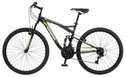 NEW 26 inch Mens Mongoose Status 2.2 Bike Black 21 Speed Adu