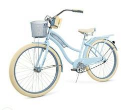 "New Huffy 26"" Inch Women's Nel Lusso Cruiser Bike with Per"