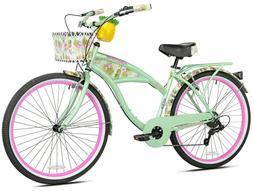 """NEW 26"""" Women's Margaritaville Multi-Speed Cruiser Bike Shim"""