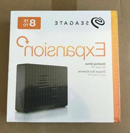 Seagate Expansion Desktop 8TB External Hard Drive HDD USB 3.