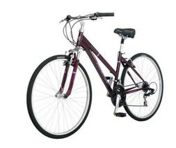 New 700c Schwinn Third Avenue Women's Hybrid Bike, Plum