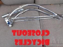 "New Bicycle Bike 26/"" Bent Spring Fork 1/"" Gold  Lowrider Cruiser Bike Part"