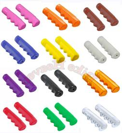 Triangle Mushroom Bicycle Handlebar Grips Fixie Beach Cruiser BMX Lowrider Bike