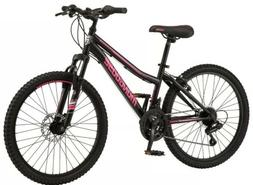 🔥NEW Female Mongoose Excursion Mountain Bike 24 Inch Whee