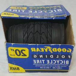 New Goodyear Folding Bead BMX Bike Tire Wheel size 20 x 2.12