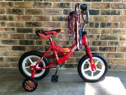 New in Box 12 inch Boys Bike Blue with Training Wheels Kids
