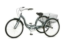 New in Box Schwinn S4004WM Meridian Adult Tricycle - Gray
