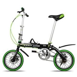 NEW Dequilon K8 14inch Folding Bike School Bicycle single sp