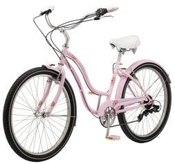 NEW Schwinn Kalei Womens 26-inch Steel Frame Cruiser Bike-Pi
