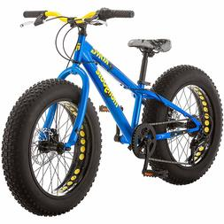 """NEW Mongoose Kong 20"""" inch Boys Fat Tire Bike 7-Speed All-Te"""