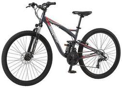 "new Mongoose Men's 27.5"" Wheel Full Suspension Bicycle, Stee"