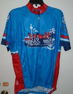 NEW CANARI Men's San Diego California Cycling Bike Jersey Si