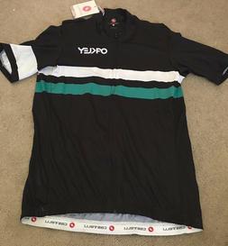 New CASTELLI OAKLEY BIKE Cycling Jersey Mens Extra Large