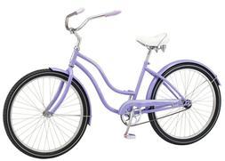 NEW Schwinn Talia Womens 26-inch Steel Frame Cruiser Bike-Pu